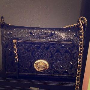 Coach purse black like new